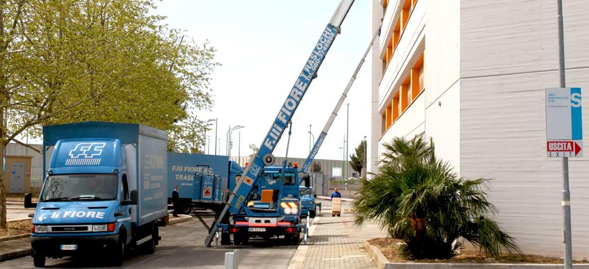Traslochi, Trasporti e Deposito   Fiore Traslochi, Bari-Puglia